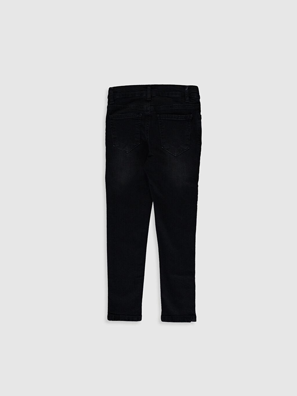 %98 Pamuk %2 Elastan Beş Cep Skinny Jean Düz Erkek Çocuk Skinny Jean Pantolon
