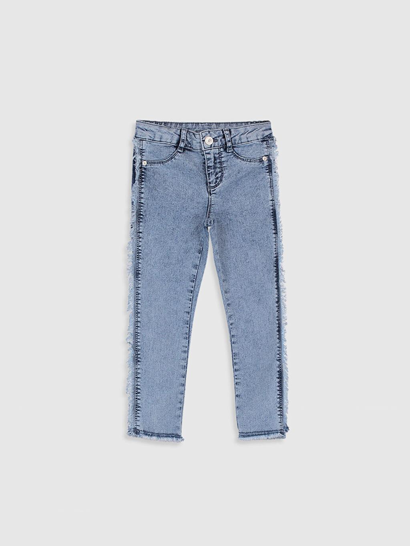 Mavi Kız Çocuk Skinny Jean Pantolon 0WAP04Z4 LC Waikiki