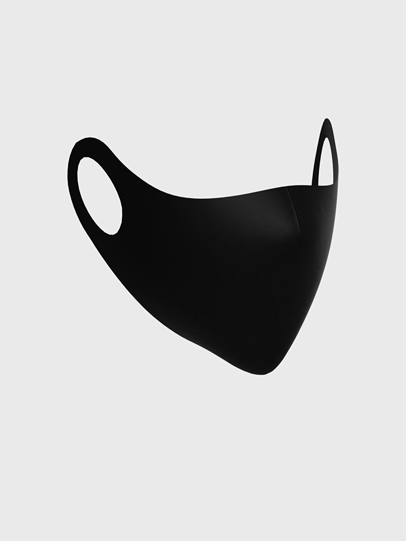 Siyah Yıkanabilir Yüz Maskesi