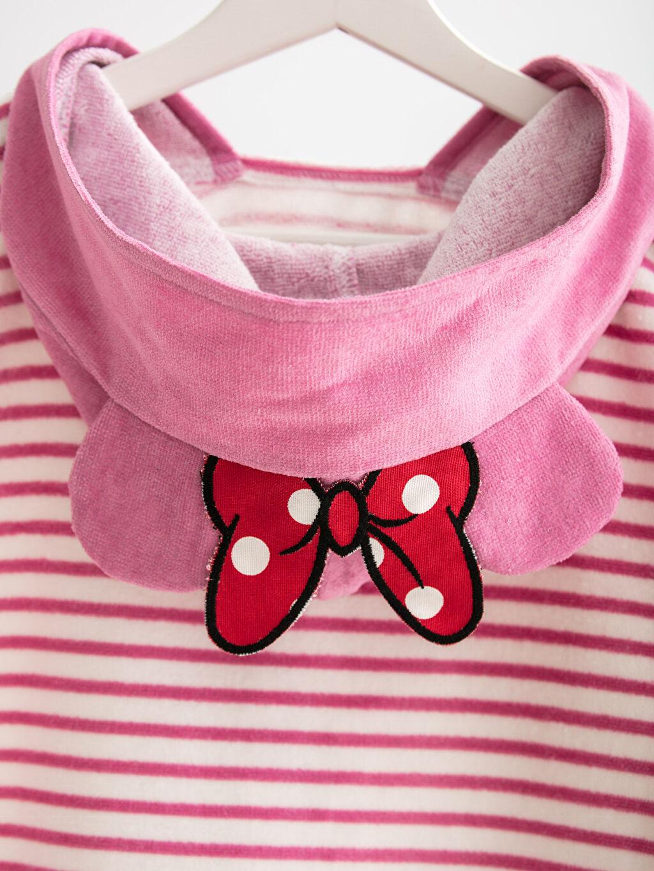 %100 Pamuk Minnie Mouse Lisanslı Bornoz