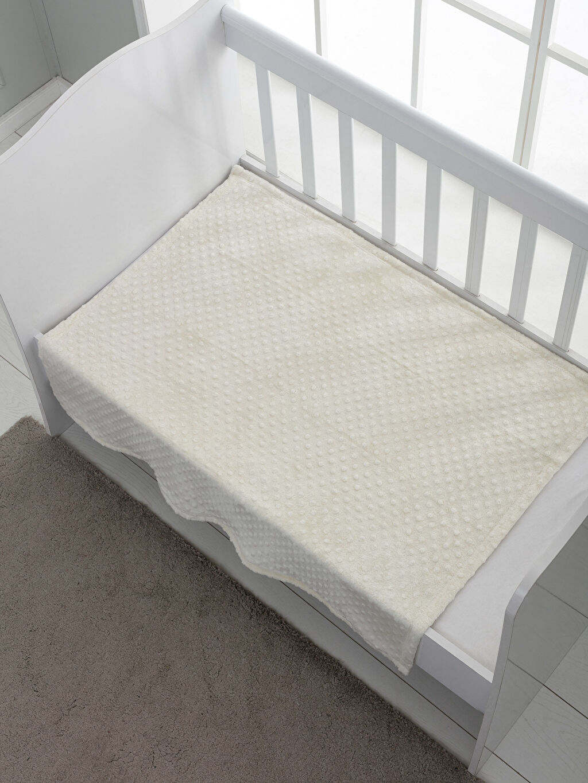 %100 Polyester Orta Kalınlık Bebek Battaniyesi Welsoft Nohut Bebek Battaniyesi