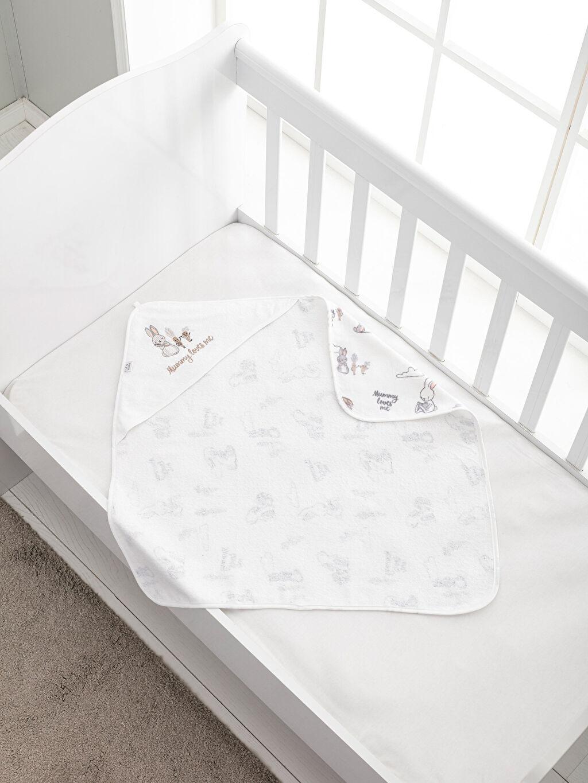 %100 Pamuk Bebek Havlusu Bebek Banyo Havlusu