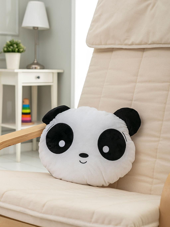 Siyah Pelüş Panda Kırlent 9WK265Z1 LC Waikiki