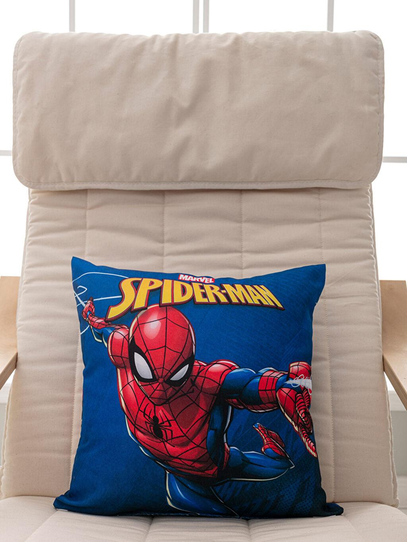 %100 Polyester  Spiderman Lisanslı Kırlent