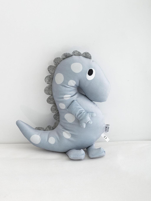 %100 Polyester Pelüş Bebek Kırlent Pelüş Bebek Dino Kırlent