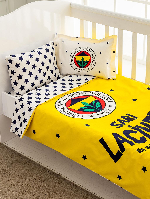 Çok Renkli TAÇ Fenerbahçe Lisanslı Bebek Nevresim Takımı 0SN689Z1 LC Waikiki