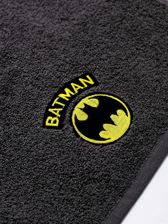 Batman Logolu Çocuk El Havlusu