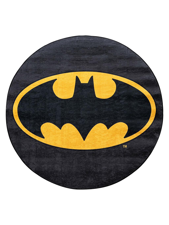 %100 Polyester Baskılı Halı Erkek Çocuk Batman Baskılı Halı