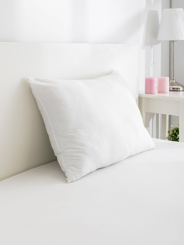 Beyaz Mikrofiber Yastık 8WI517Z8 LC Waikiki
