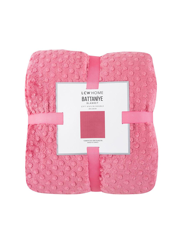 %100 Polyester Çift Kişilik Well Soft Battaniye