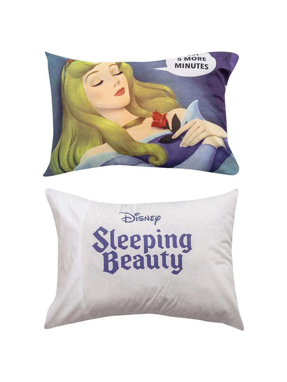 Uyuyan Güzel Lisanslı Yastık Kılıfı 2'li