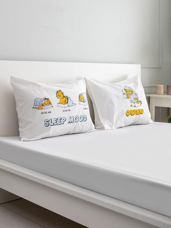 Çok Renkli Garfield Lisanslı Yastık Kılıfı 2'li 0SE615Z8 LC Waikiki