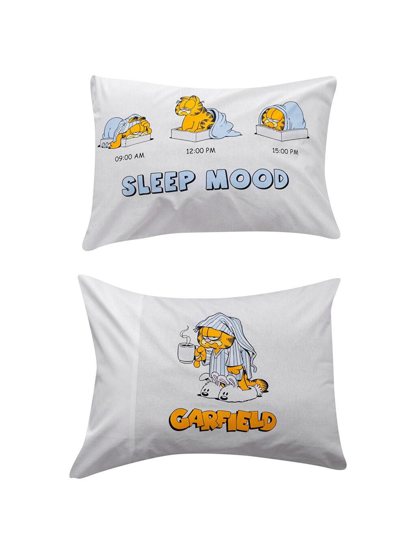 Garfield Lisanslı Yastık Kılıfı 2'li