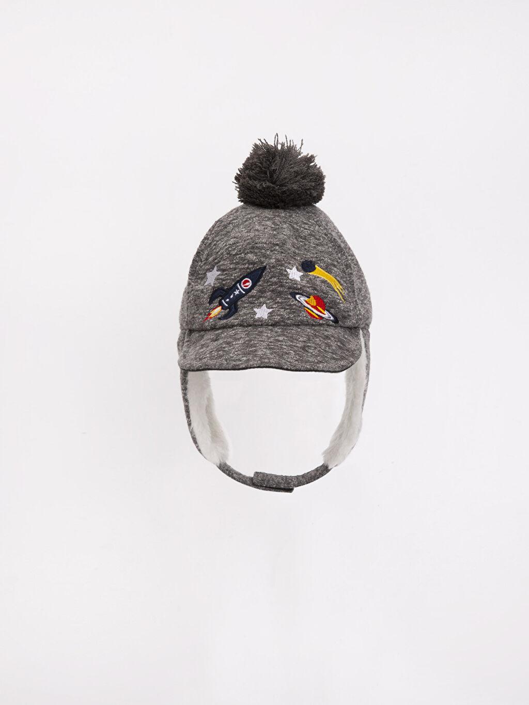 %38 Pamuk %62 Polyester %100 Pamuk  Ponponlu Şapka