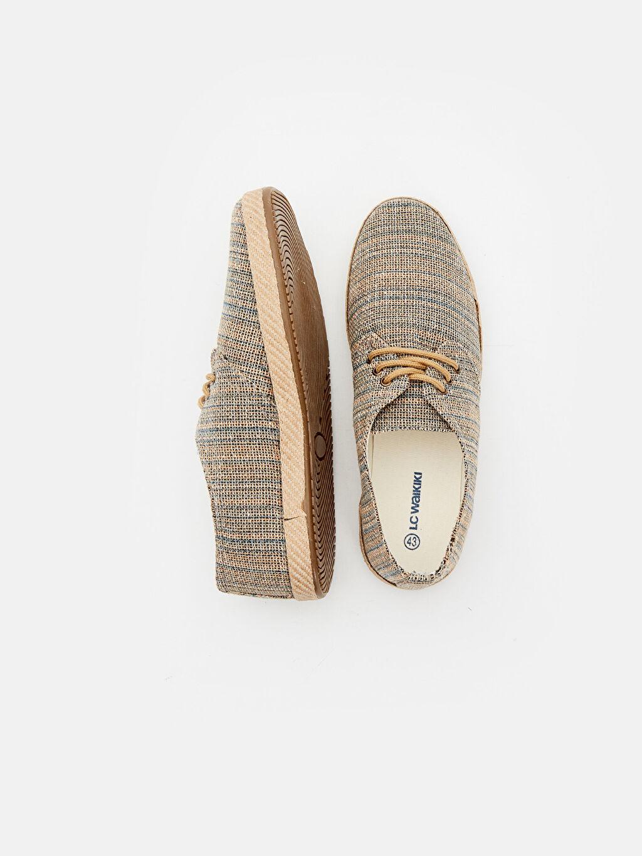 Tekstil malzemeleri Tekstil malzemeleri Sneaker Bağcık Kumaş Görünümlü Espadril Ayakkabı