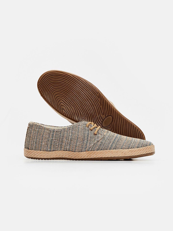 Erkek Kumaş Görünümlü Espadril Ayakkabı