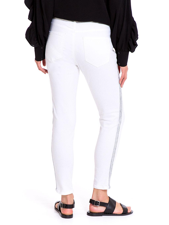 Kadın Gabardin Skinny Pantolon