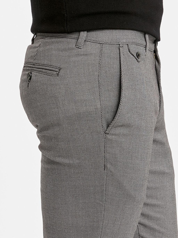 %66 Polyester %2 Elastan %32 Viskon Standart Kalıp Armürlü Pantolon