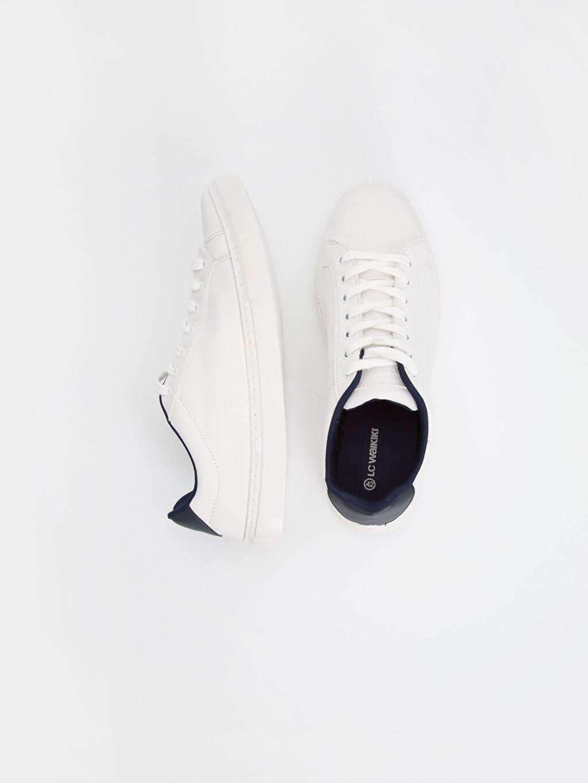 Diğer malzeme (poliüretan) Tekstil malzemeleri Ayakkabı Erkek Spor Ayakkabı
