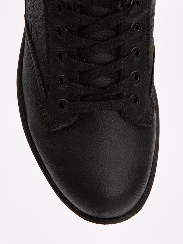 LC Waikiki Siyah Erkek Kalın Taban Klasik Ayakkabı