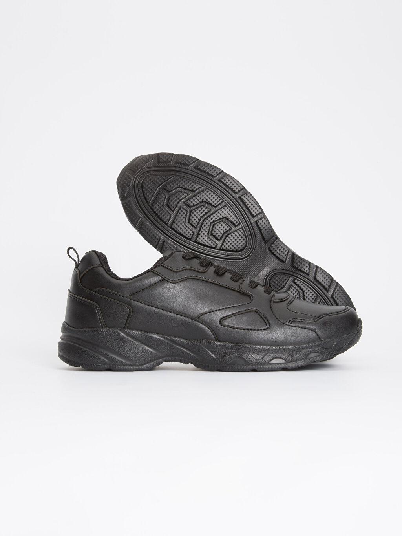 Erkek Erkek Kalın Taban Bağcıklı Ayakkabı