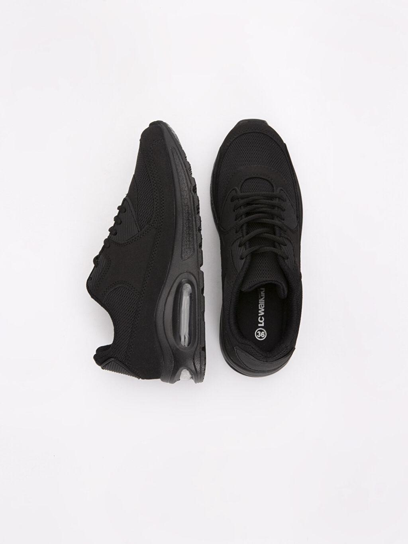 Tekstil malzemeleri Diğer malzeme (poliüretan) Tekstil malzemeleri Kısa Tekstil Malzeme Orta Yükseksik(2-7cm) Sneaker Bağcıklı Spor Ayakkabı
