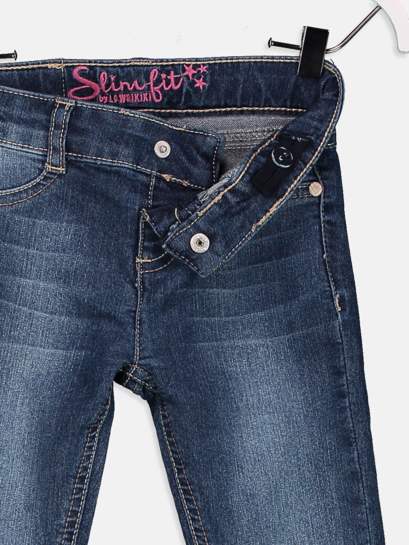 Kız Çocuk Slim Jean Pantolon