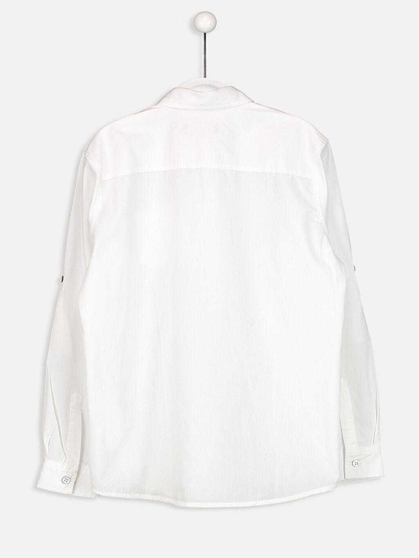 Erkek Çocuk Uzun Kollu Poplin Gömlek