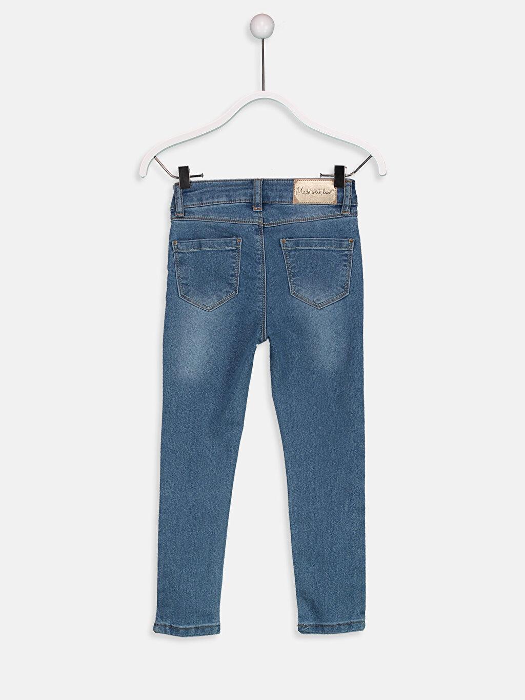 %76 Pamuk %21 Polyester %3 Elastan Düz Dar Paça Aksesuarsız Normal Bel Astarsız Dar Jean Skinny Jean Pantolon