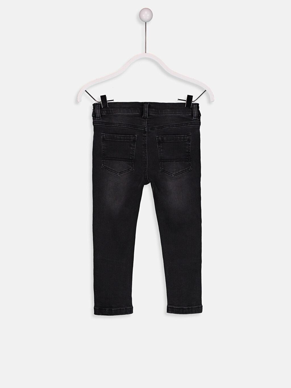 %98 Pamuk %2 Elastane Normal Bel Standart Erkek Bebek Jean Pantolon