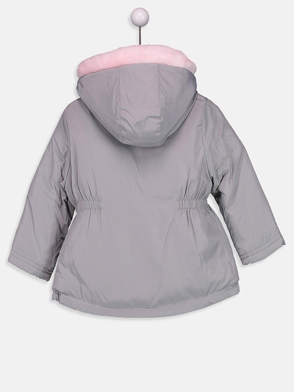 %100 Polyester %100 Polyester Kalın Kaban Kız Bebek Kürk Astarlı Kalın Uzun Kaban