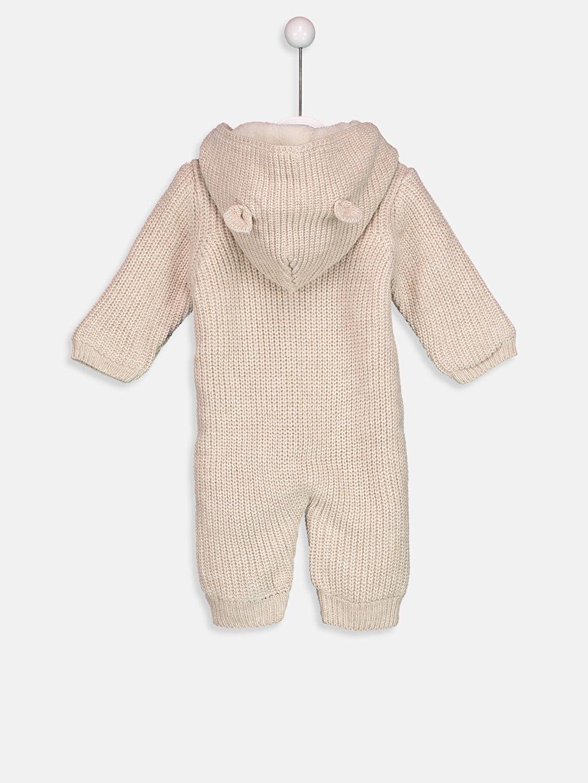 %100 Akrilik %100 Polyester Triko Tulum Erkek Bebek Triko Tulum