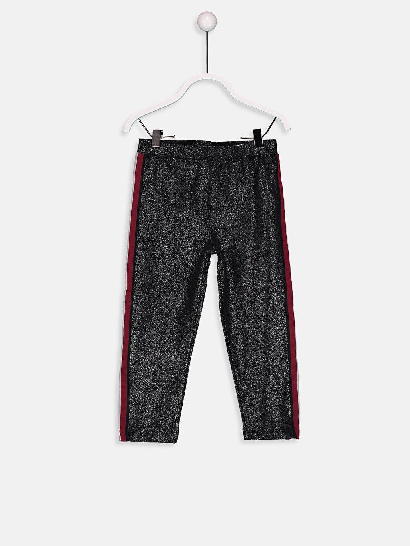 Siyah Kız Bebek Pantolon 8W7225Z1 LC Waikiki