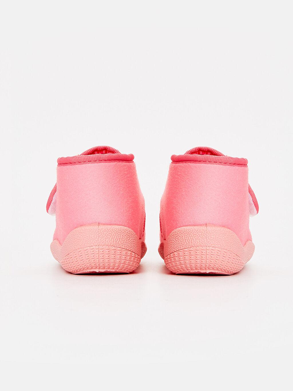 Kız Bebek Minnie Mouse Desenli Ev Ayakkabısı