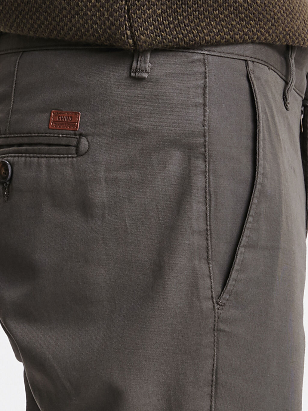 %100 Pamuk Normal Kalıp Gabardin Chino Pantolon