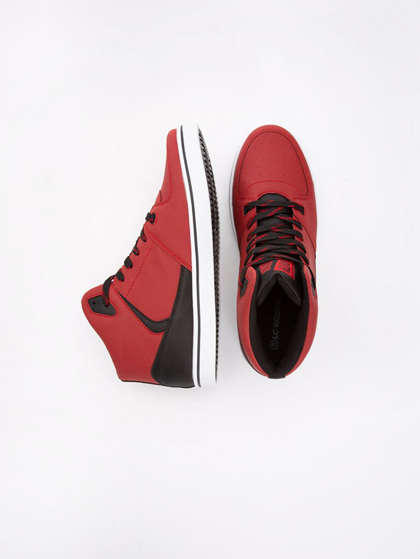 Diğer malzeme (poliüretan) Bağcık Sneaker Erkek Bağcıklı Günlük Spor Ayakkabı