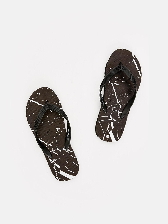 Siyah Erkek Parmak Arası Plaj Terliği 9S5450Z8 LC Waikiki