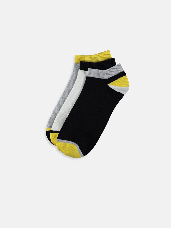 Çok Renkli Patik Çorap 3'lü 9S6583Z8 LC Waikiki