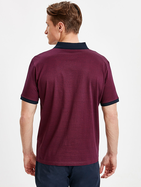 Erkek Polo Yaka Kısa Kollu Merserize Tişört