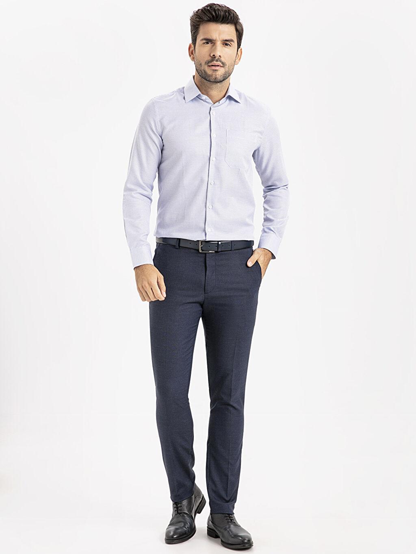 Lacivert Slim Fit Takım Elbise Pantolonu 9SL997Z8 LC Waikiki
