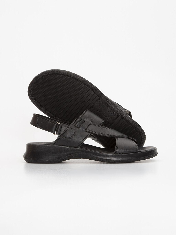 Erkek Erkek Çapraz Bant Sandalet