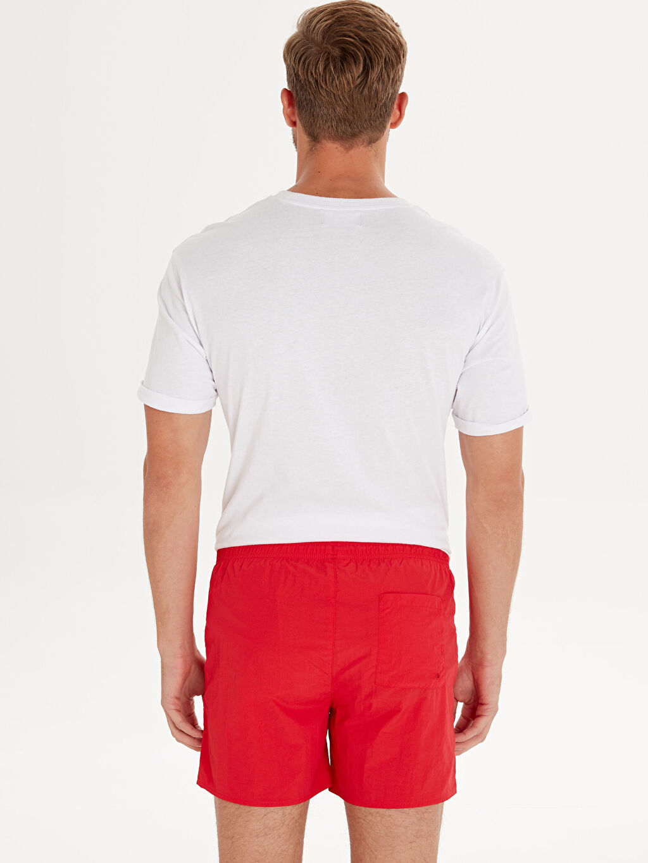 %100 Polyamide %100 U:  POLYAMIDE %100 Polyester Yüzme Şort İnce Kısa Kısa Boy Basic Deniz Şortu