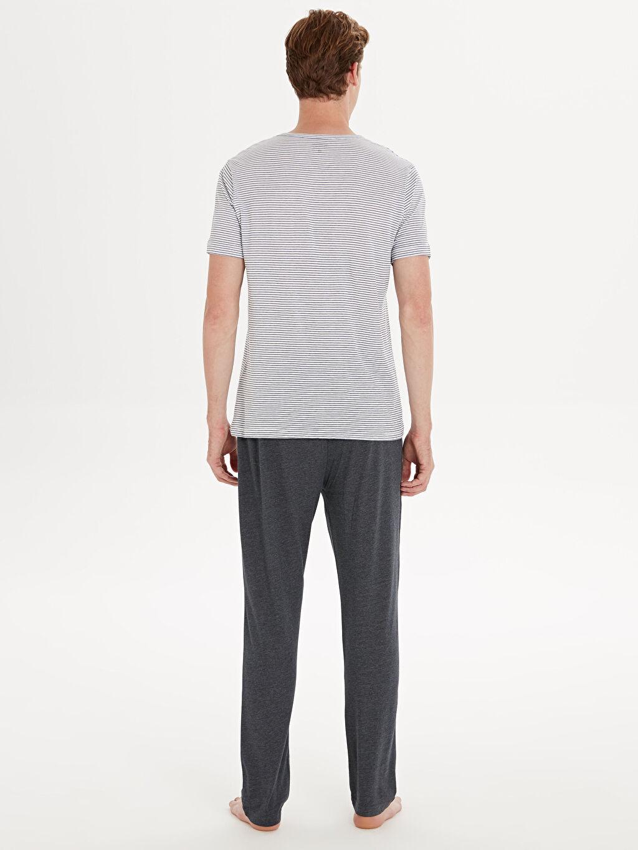 %100 Pamuk Süprem Standart Pijama Takım Standart Kalıp Pijama Takım