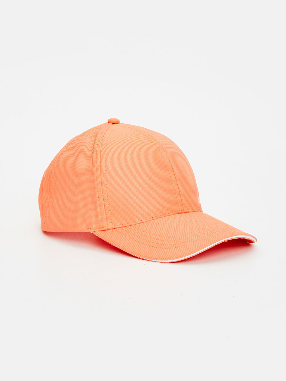 %100 Polyester %100 Polyester Şapka Kep Logo Yazı Baskılı Neon Şapka