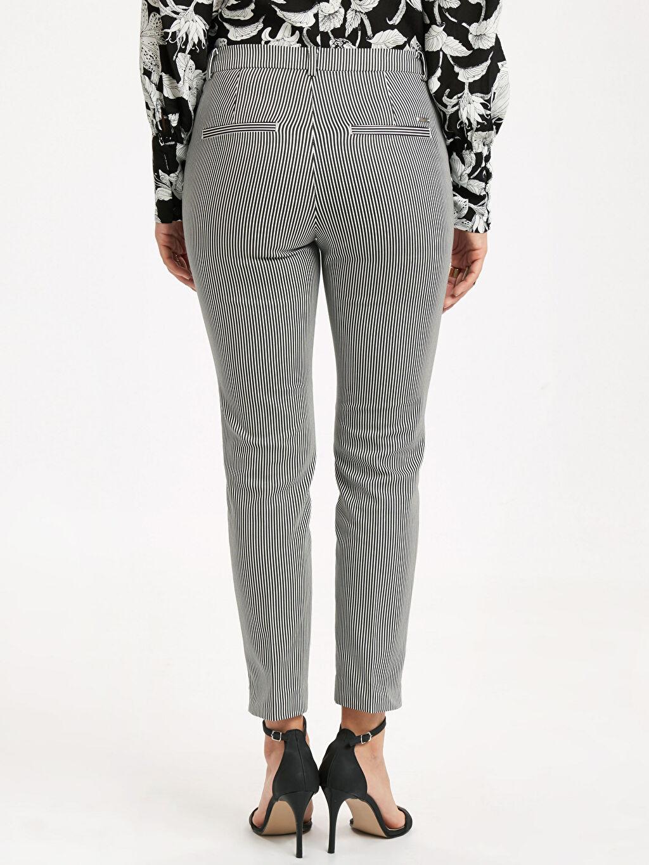 Kadın Bilek Boy Skinny Kumaş Pantolon