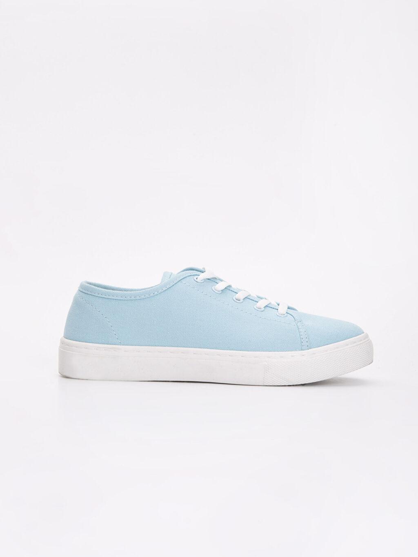 Mavi Kadın Bağcıklı Spor Ayakkabı 9SG090Z8 LC Waikiki