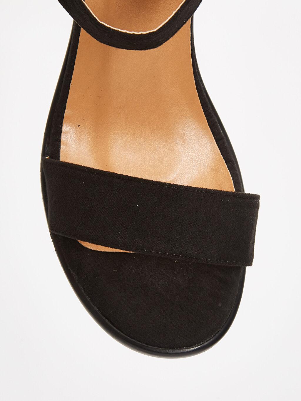 LC Waikiki Siyah Kadın Topuklu Sandalet
