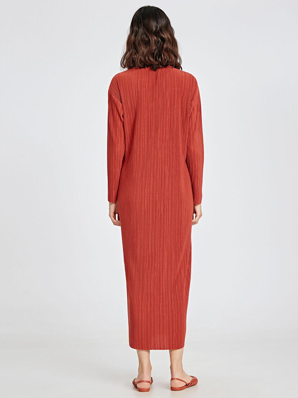 Kadın Uzun Pilili Elbise