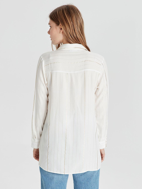 Kadın Işıltı Detaylı Hamile Bluz