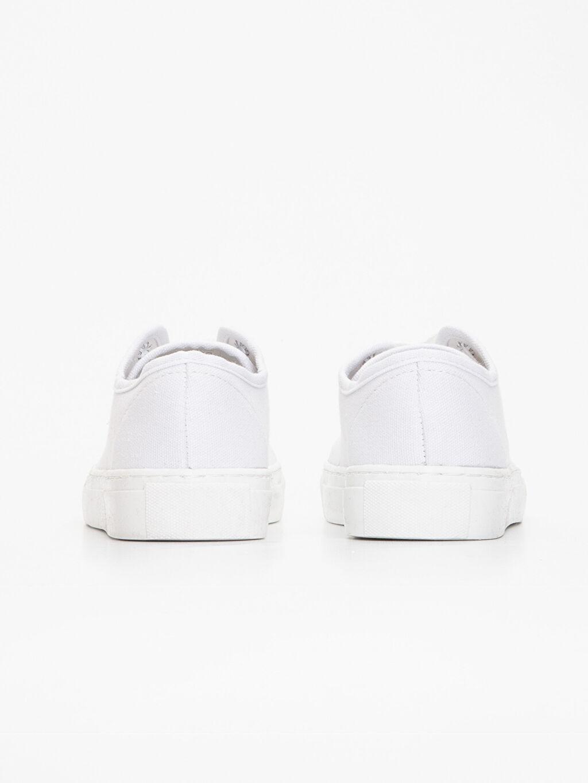Kadın Kalın Taban Spor Ayakkabı